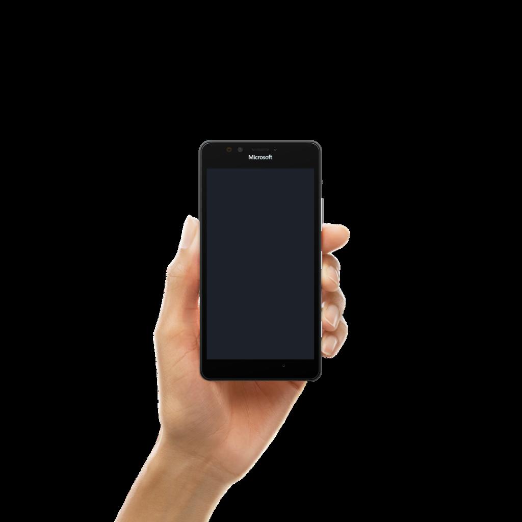 Adult Hand 2 - Microsoft Lumia 950